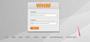 WHM切换中文及更改php版本