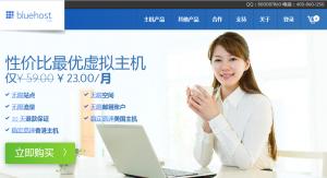 外贸网站选择bluehost主机的趋势和优点